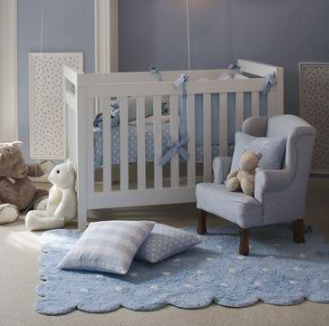 Alfombra lorena canals lavable galleta azul enfants et maison - Alfombras de bebe lavables ...