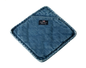 AGARRADOR AZUL JEANS DE LEXINGTON 23X23