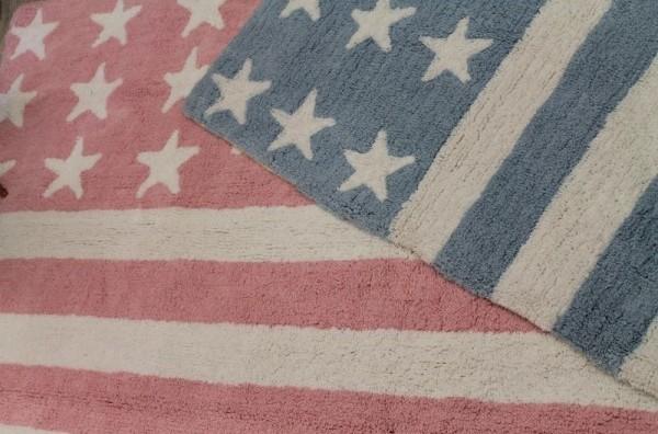 Alfombra lorena canals lavable americana rosa enfants et - Alfombra banera ...