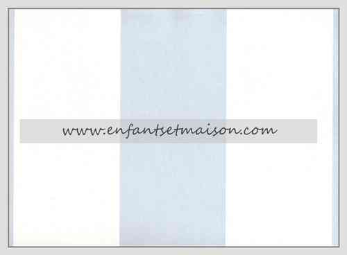 PAPEL PARED RAYAS 9CM EN AZUL