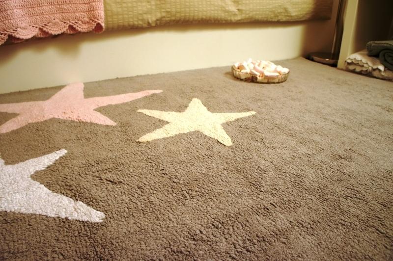 Alfombra lorena canals lavable gris 3 estrellas tricolor for Alfombras lorena canals