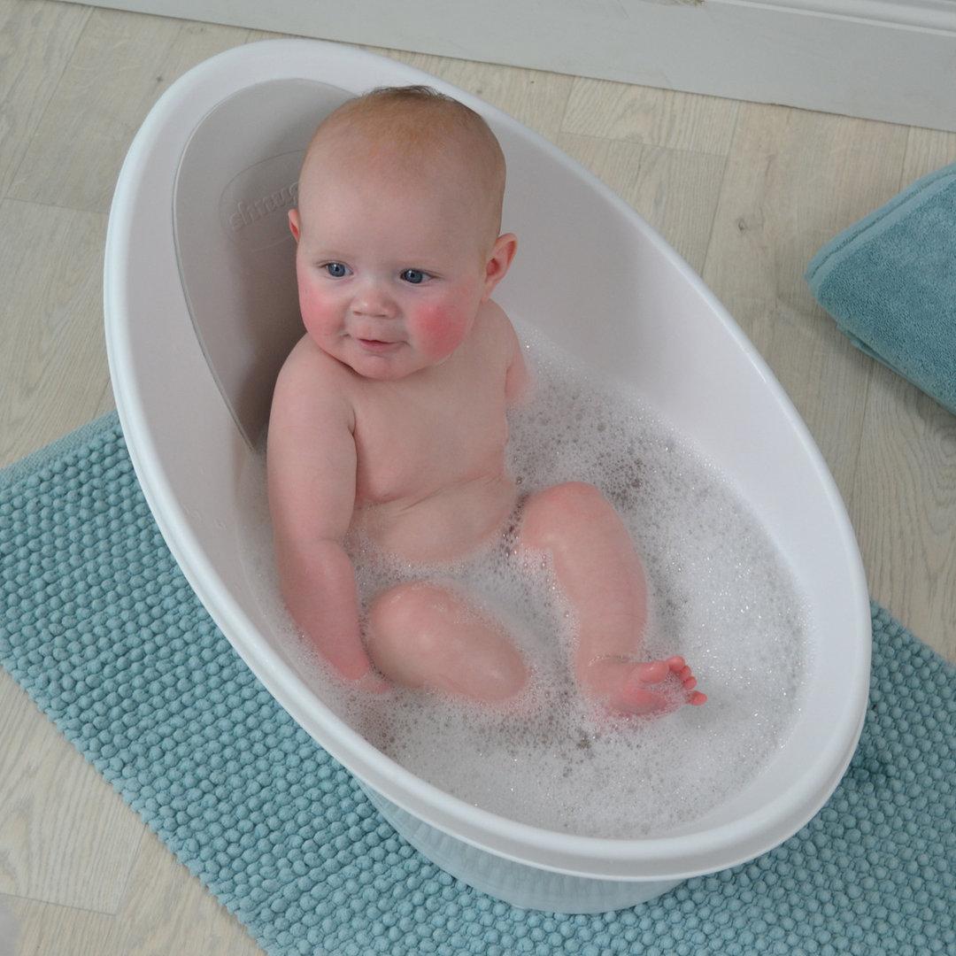 Ba era beb shnuggle anticolicos blanco y azul enfants et - Cambiador de bebe de pared ...