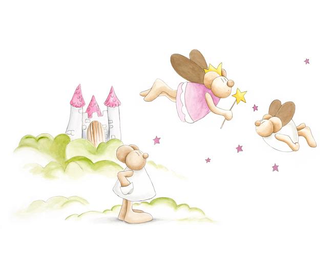 Murales infantiles enfants et maison - Infantil papel pintado imagenes ...