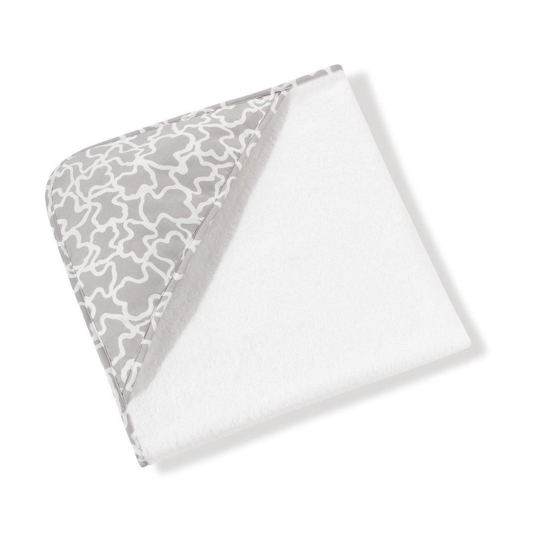 Set De Baño Bebe Confort:Capa de baño Baby TOUS estampado Kaos que ofrece calidez, confort y