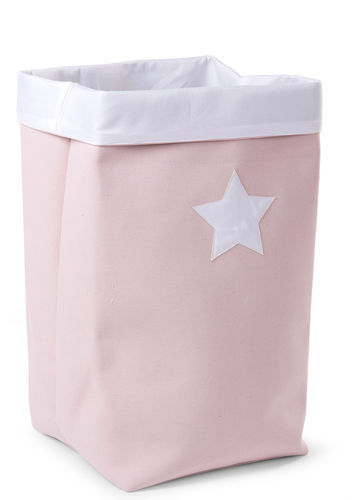 Cesta Canvas plegable rosa Childhome 32-32-60cm