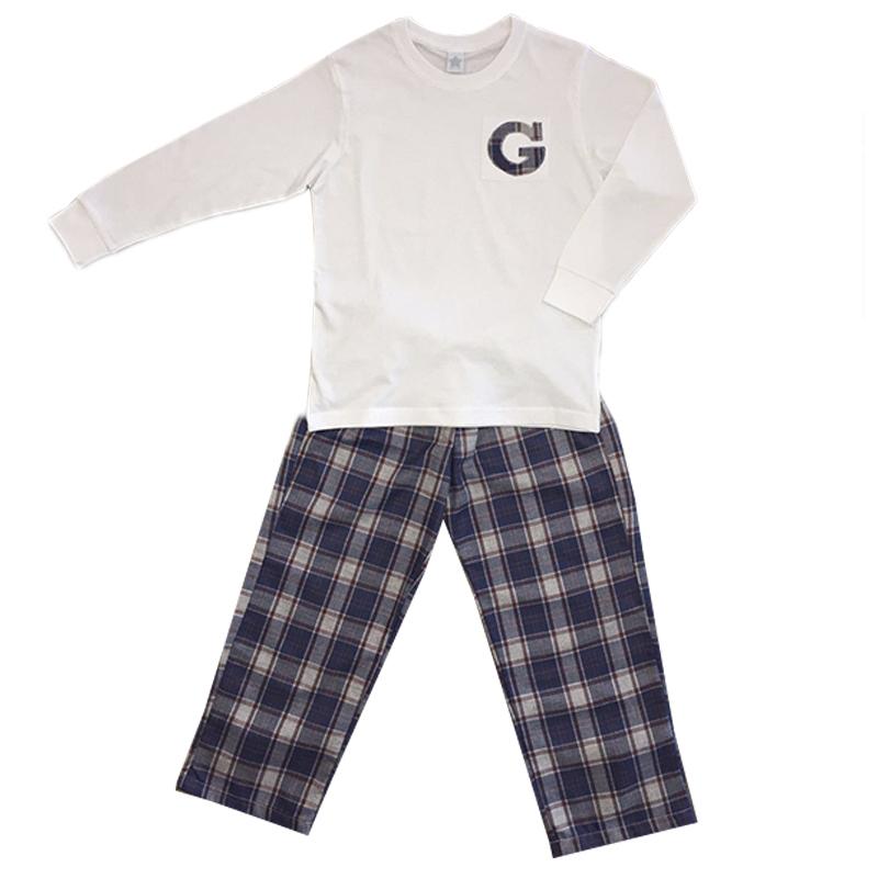3f063d213 Pijama balmoral escocés personalizado - Enfants et Maison
