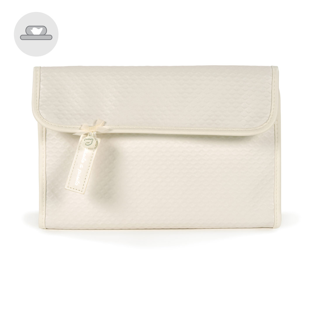 FUNDA LIBRO DE NACIMIENTO PIQUE BEIGE NEW COTTON