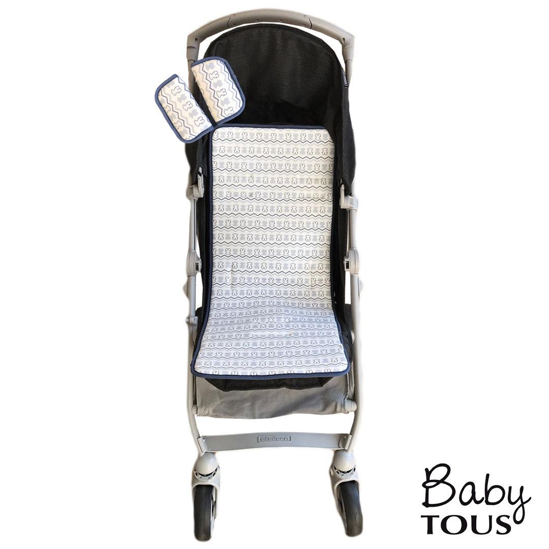 Colchoneta silla universal azul tous baby enfants et maison - Colchoneta silla paseo universal ...