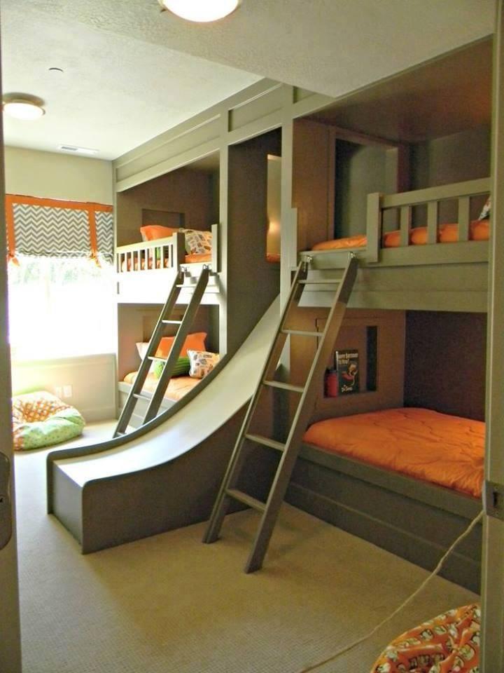 Habitaciones infantiles para hermanos - Enfants et Maison