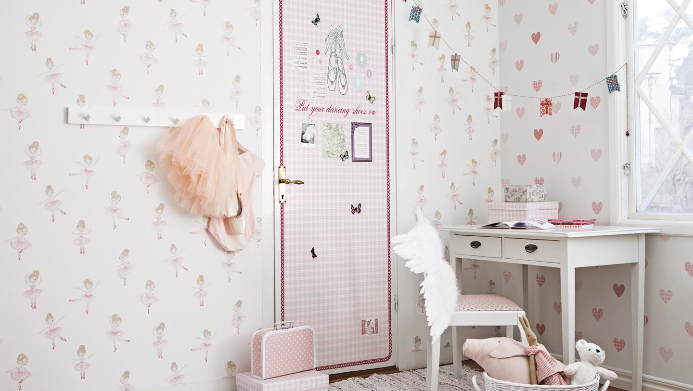 Colecci n de papeles pintados lilleby kids de coordonn - Papel pintado para habitacion bebe ...