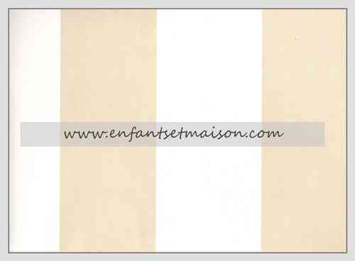 Papel pared  Rayas 9CM beige