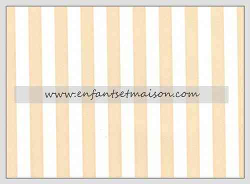 Papel pared Rayas 1CM beige