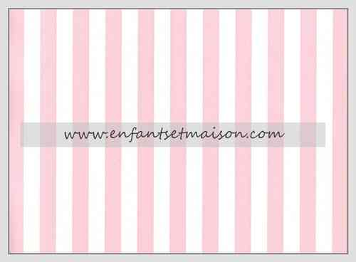 Papel pared Rayas 1CM color rosa