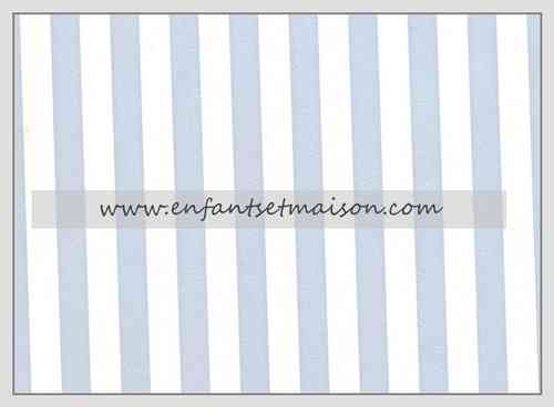 Papel pared Rayas 1CM azul