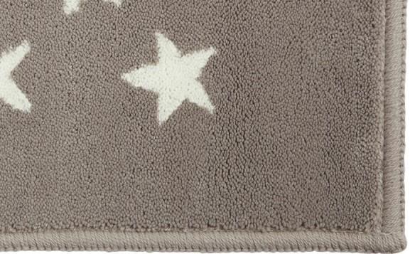 alfombra lorena canals acrÍlica estrellas gris -enfants et maison