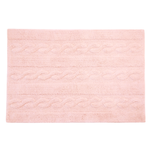 Alfombra Lorena Canals lavable Trenzas soft pink small