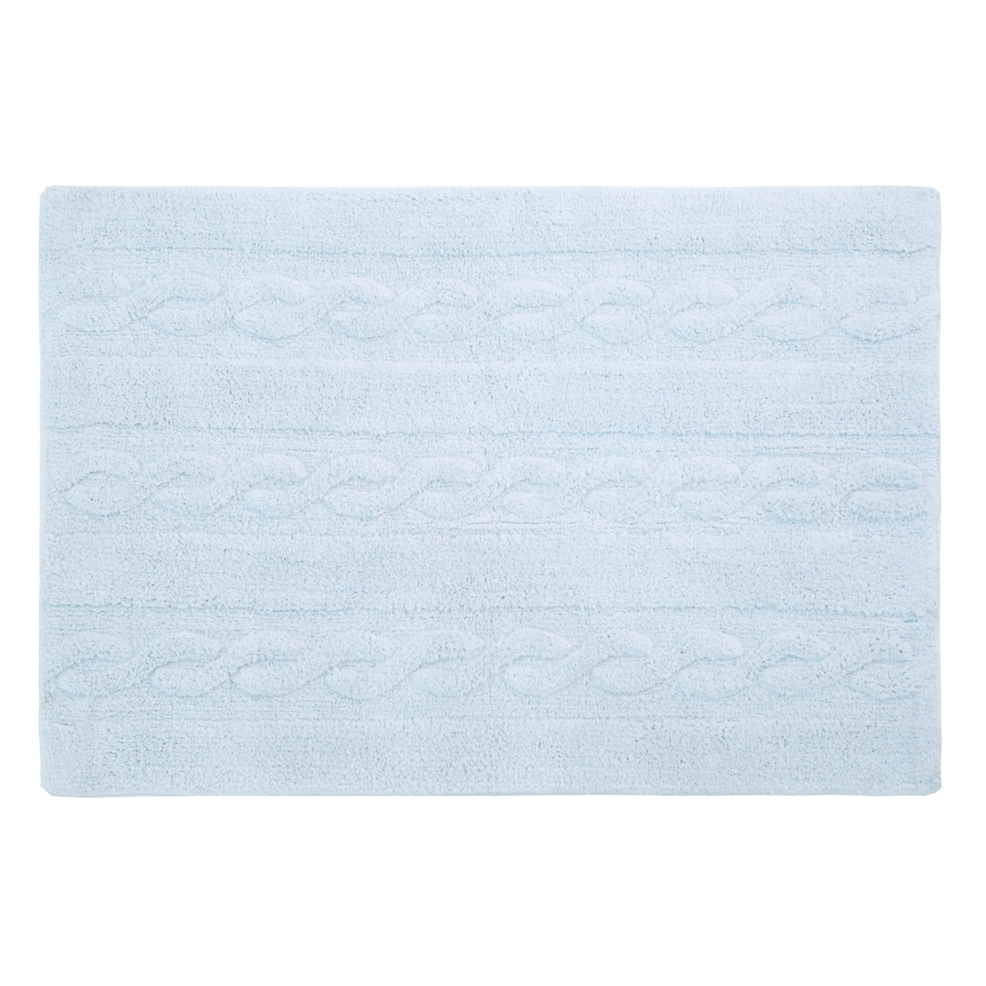 Alfombra Lorena Canals lavable Trenzas soft blue small