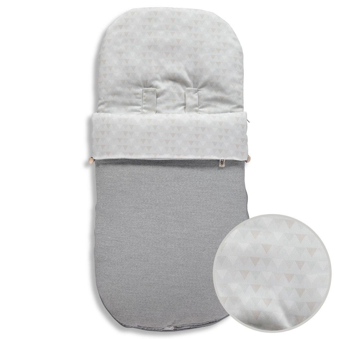 Saco para silla universal indiana punto gris enfants et for Saco invierno maclaren