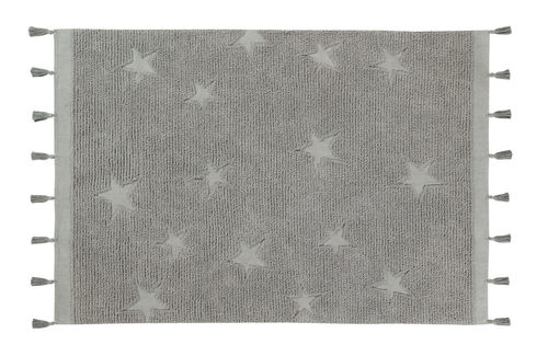 Alfombra Lorena Canals lavable Hippy Stars Grey