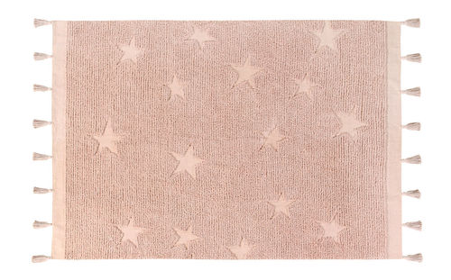Alfombra Lorena Canals lavable Hippy Stars Vintage Nude