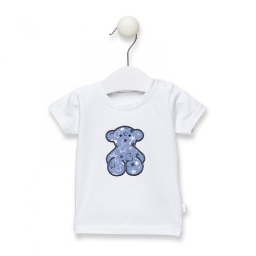 6f685f229 Camiseta Stamp azul celeste Tous Baby