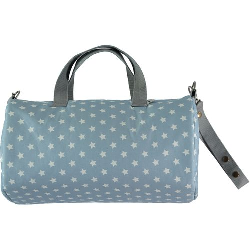 Bolso Weekend impermeable Nid azul
