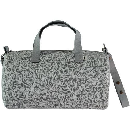 Bolso Weekend impermeable Bali gris