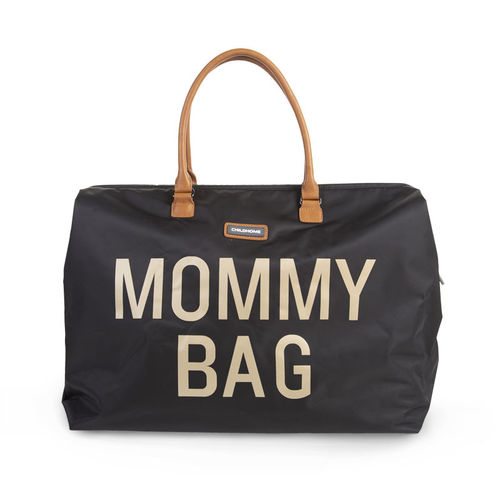 Bolsa Mommy Bag black Gold