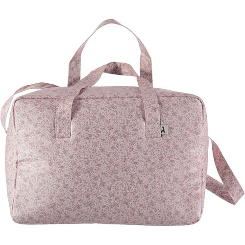 Bolso canastilla impermeable Violetta flores