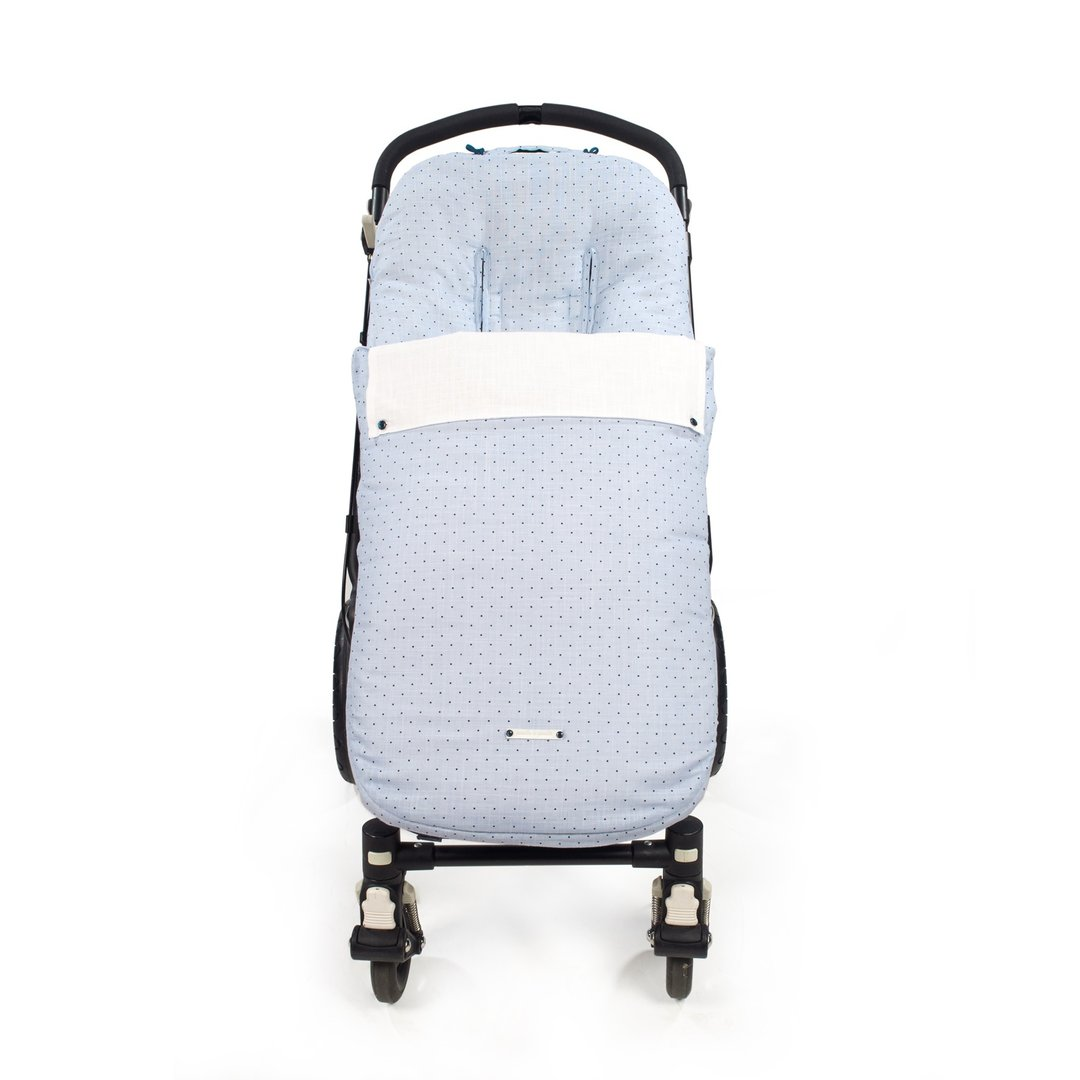 saco universal silla paseo gemelar