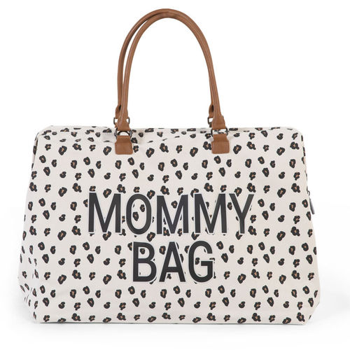 Bolsa Mommy Bag Canvas Leopardo