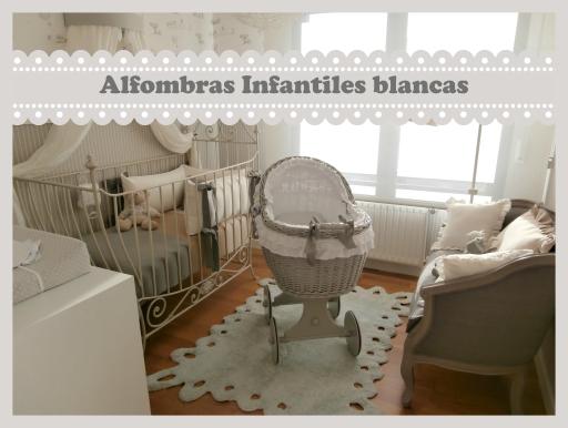 Alfombras infantiles de color blanco enfants et maison - Alfombras infantiles lavables lavadora ...